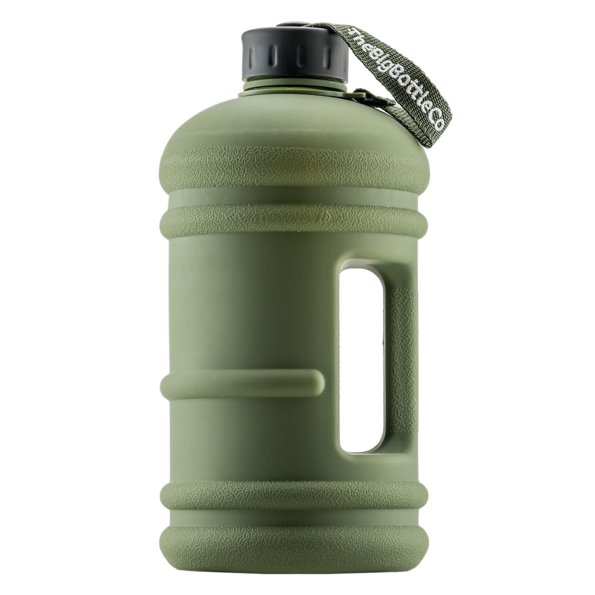 Commando Black 2.2L BPA Free Water Bottle