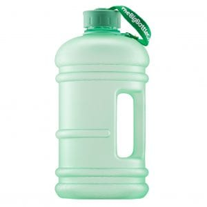 Retro Mint 2.2L BPA Free Water Bottle