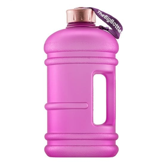 Purple Rose 2.2L BPA Free Water Bottle